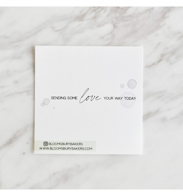 Sending Love Card (Blue/Green)
