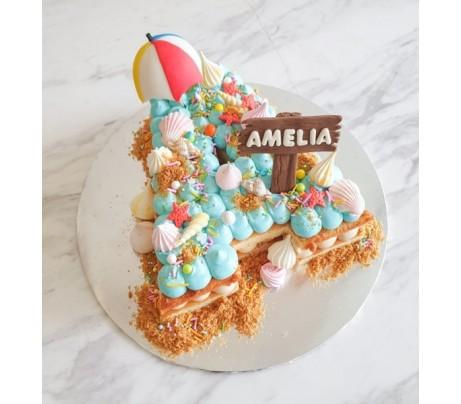 Alphabet & Digit Cakes